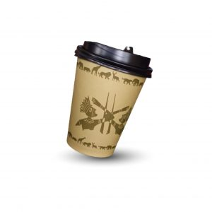 olive paper cup
